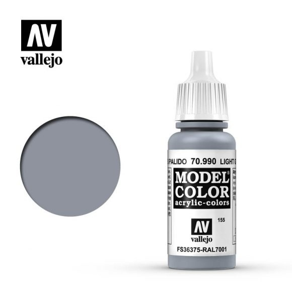 Acrylicos Vallejo, S.L. 155 LIGHT GREY