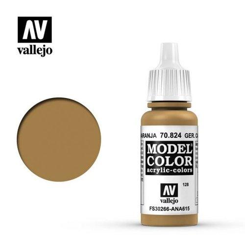 Acrylicos Vallejo, S.L. 128 GERMAN CAMOUFLAGE OCHRE ORANGE