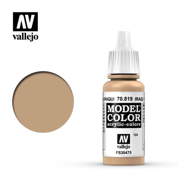 Acrylicos Vallejo, S.L. 124 IRAQI SAND