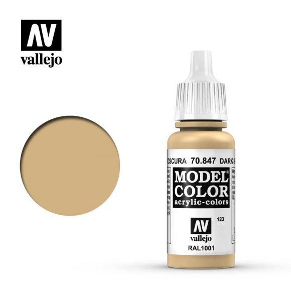 Acrylicos Vallejo, S.L. 123 DARK SAND