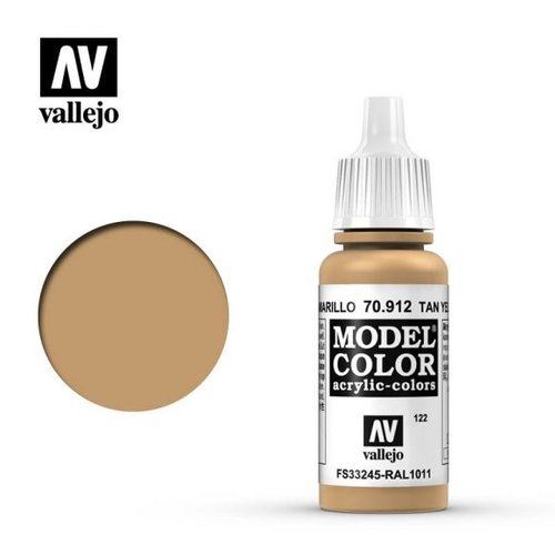 Acrylicos Vallejo, S.L. 122 TAN YELLOW