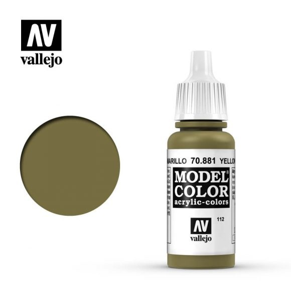 Acrylicos Vallejo, S.L. 112 YELLOW GREEN