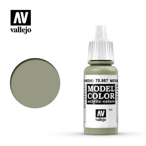Acrylicos Vallejo, S.L. 111 MEDIUM GREY