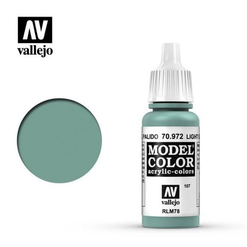 Acrylicos Vallejo, S.L. 107 LIGHT GREEN BLUE