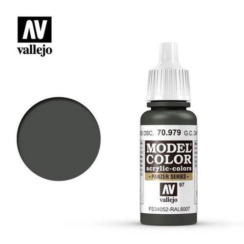 Acrylicos Vallejo, S.L. 097 GERMAN CAMOUFLAGE DARK GREEN No2