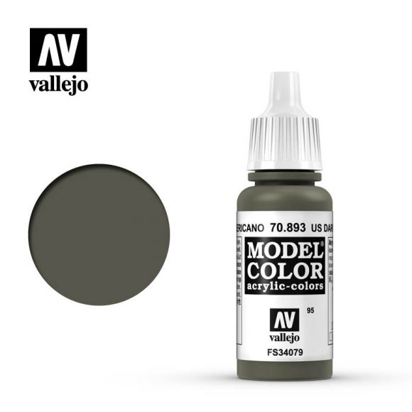 Acrylicos Vallejo, S.L. 095 US DARK GREEN