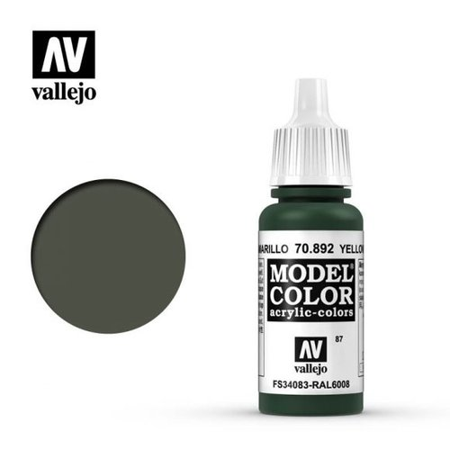 Acrylicos Vallejo, S.L. 087 YELLOW OLIVE