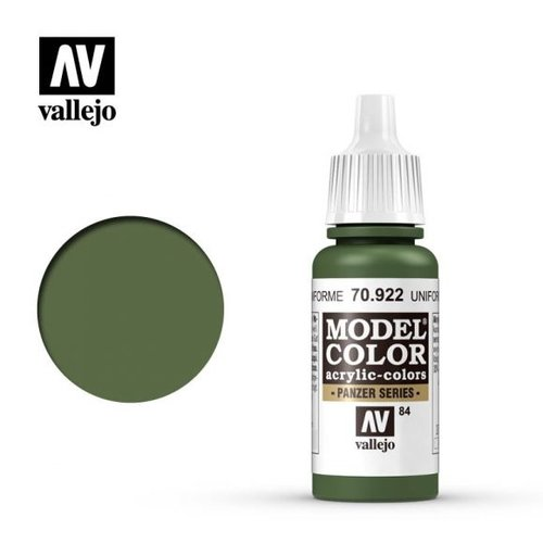 Acrylicos Vallejo, S.L. 084 US UNIFORM GREEN
