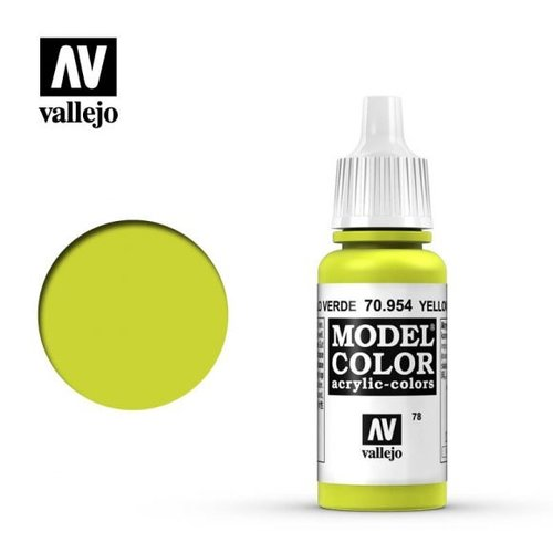 Acrylicos Vallejo, S.L. 078 YELLOW GREEN