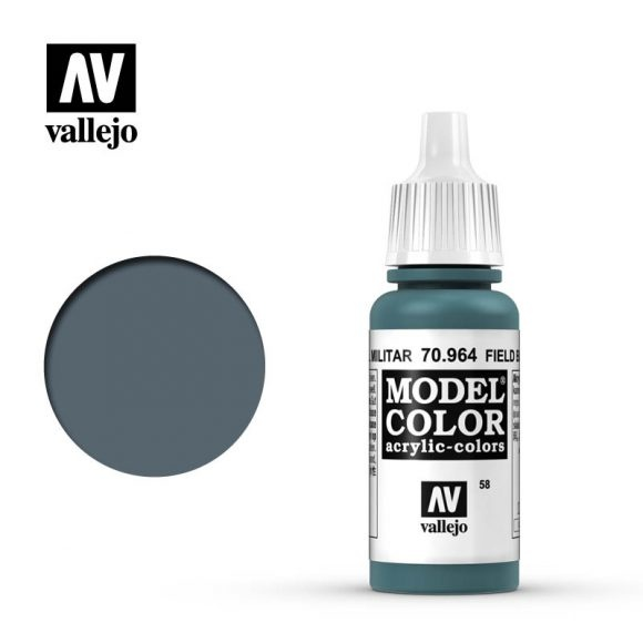 Acrylicos Vallejo, S.L. 058 FIELD BLUE