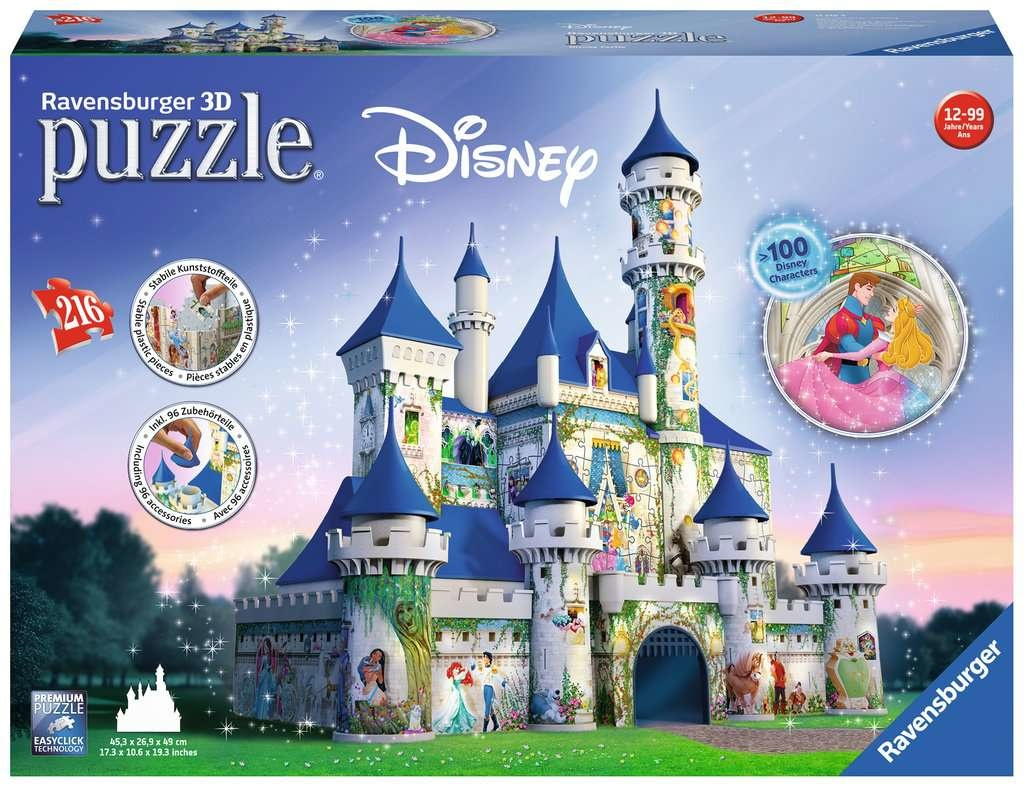 Ravensburger RV3D DISNEY CASTLE