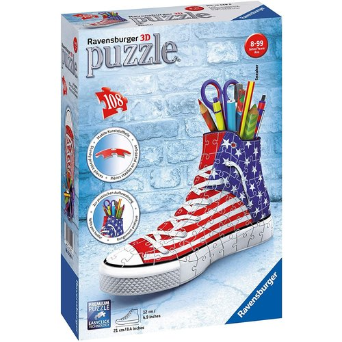 Ravensburger RV3D SNEAKER AMERICAN STYLE 3D JIGSAW PUZZLE