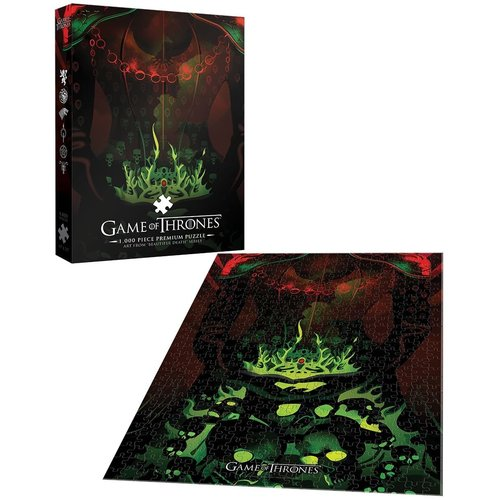 USAopoly US1000 GAME OF THRONES YOUR NAME WILL DISAPPEAR