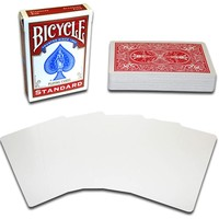 BICYCLE BLANK FACE RED