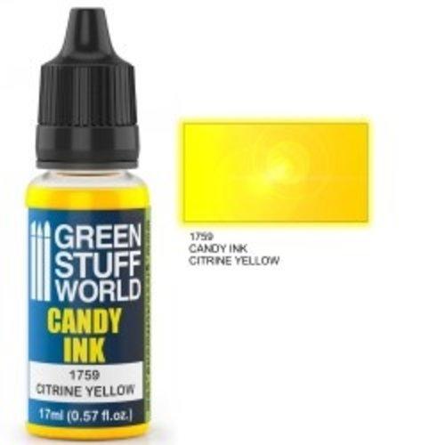 Green Stuff World CANDY INK: CITRINE YELLOW