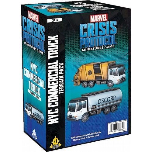 Asmodee MARVEL CRISIS PROTOCOL: NYC COMMERCIAL TRUCK