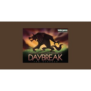 Bezier Games ONE NIGHT ULTIMATE WEREWOLF: DAYBREAK