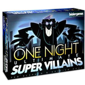 Bezier Games ONE NIGHT ULTIMATE SUPER VILLIANS