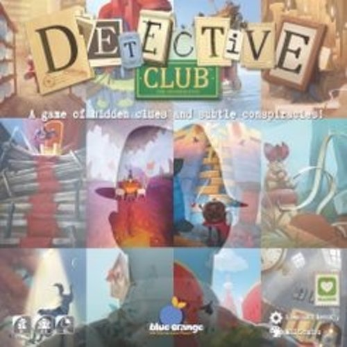 BLUE ORANGE DETECTIVE CLUB