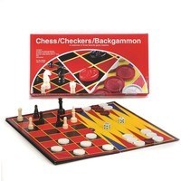 CHECKERS/CHESS/BACKGAMMON
