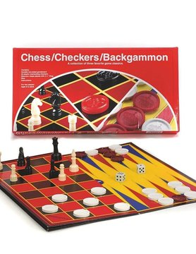 GOLIATH/PRESSMAN/CONTINUUM CHECKERS/CHESS/BACKGAMMON