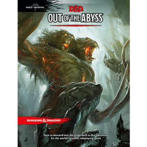 Wizards of the Coast D&D 5E: OUT OF THE ABYSS