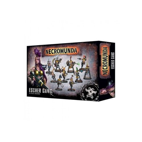 Games Workshop NECROMUNDA: ESCHER GANG
