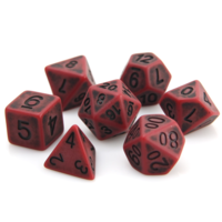 GOLEM DICE SET 7 BLOOD