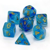 GALAXY DICE SET 7 LIQUID GALAXY