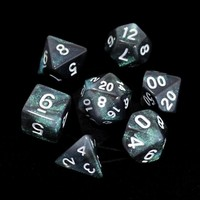 POLYMER DICE SET 7 AURORA EVERCLEAR
