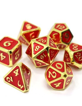 Die Hard Dice MYTHICA DICE SET 7 RUBY GOLD