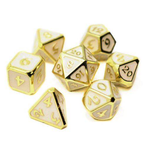 Die Hard Dice MYTHICA DICE SET 7 CELESTIAL RELIC
