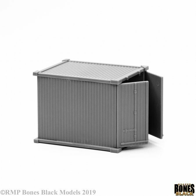 Reaper Miniatures BONES BLACK: 10 FOOT CONTAINER