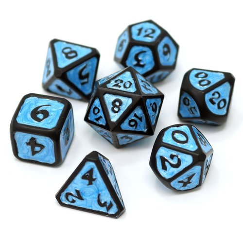 Die Hard Dice MYTHICA DICE SET 7 TEMPEST FROST