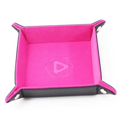 Die Hard Dice DICE TRAY: PINK SQUARE - FOLDING