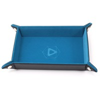 DICE TRAY: TEAL RECTANGLE - FOLDING