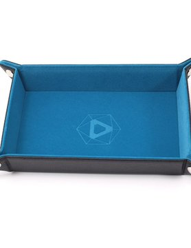 Die Hard Dice DICE TRAY: TEAL RECTANGLE - FOLDING