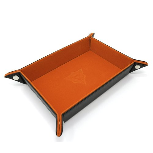 Die Hard Dice DICE TRAY: ORANGE RECTANGLE - FOLDING
