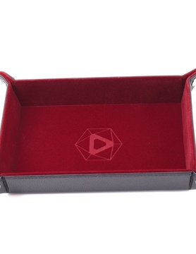 Die Hard Dice DICE TRAY: RED RECTANGLE - FOLDING