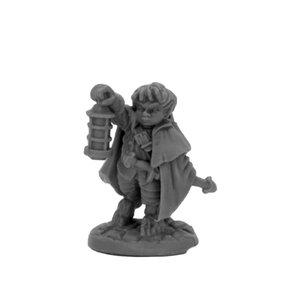 Reaper Miniatures BONES BLACK: BERGAMOT HALFLING SCOUT