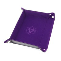 DICE TRAY: PURPLE RECTANGLE - FOLDING