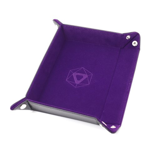 Die Hard Dice DICE TRAY: PURPLE RECTANGLE - FOLDING