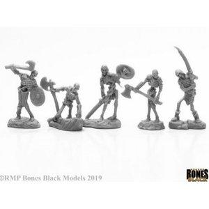 Reaper Miniatures BONES BLACK: BOG SKELETONS (5)