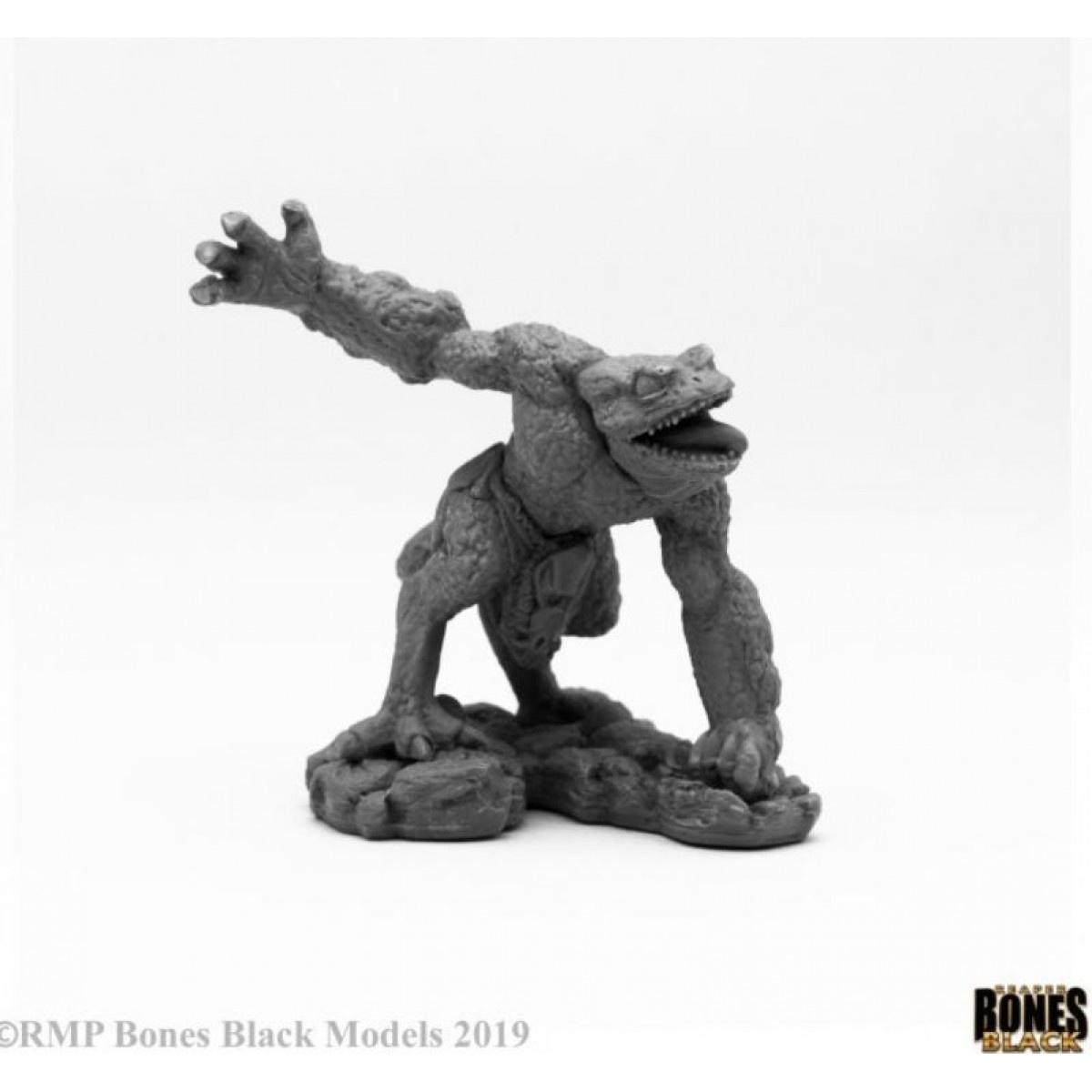Reaper Miniatures BONES BLACK: CHAOS TOAD SAVAGE