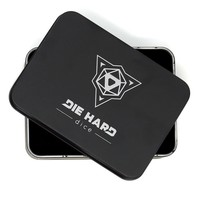 DICE METAL CASE - BLACK