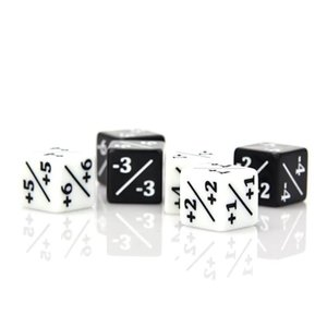 Die Hard Dice MTG POWER TOUGHNESS COUNTERS