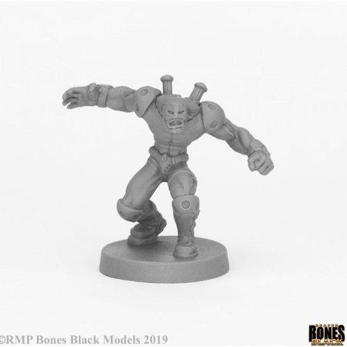 Reaper Miniatures BONES BLACK: CROSSFIRE SUPER VILLAIN