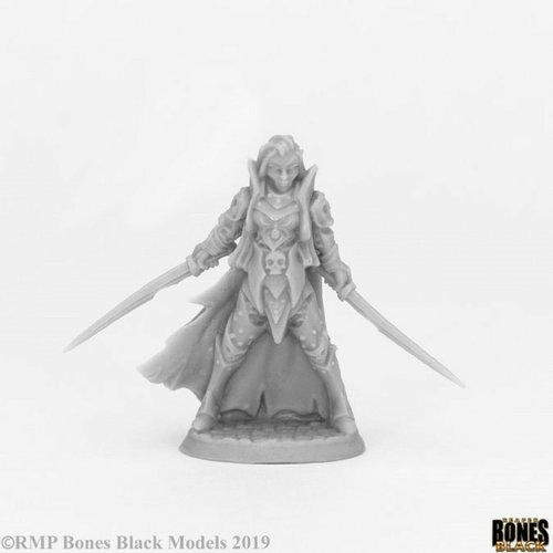 Reaper Miniatures BONES BLACK: DARK ELF ELITE
