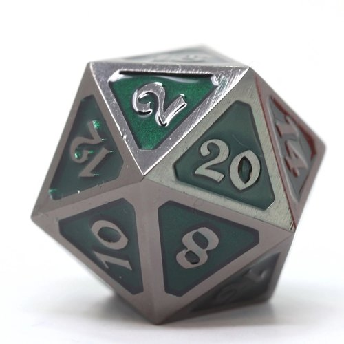 Die Hard Dice DIRE D20 SINISTER EMERALD