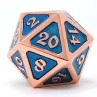 DIRE D20 MYTHICA AQUAMARINE COPPER